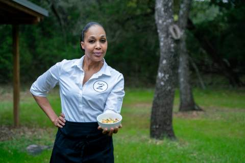 After 23 years in the Marine Corps, Walda Collins retired and went to culinary school... she now owns a cozy sandwich shop and has future plans of hosting cooking classes and meal prep services at CoCo Bistro, 9120 Old Dietz Elkhorn Rd. in Fair Oaks Ranch. Star photos by Jennifer Aghassibake